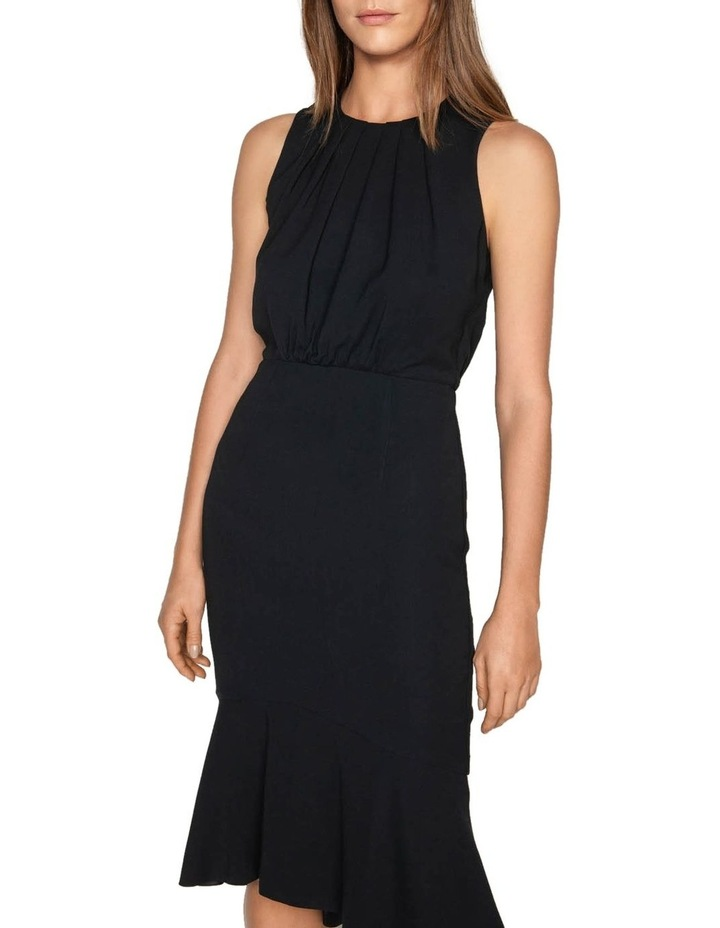 Fluted Hem Midi Dress image 2
