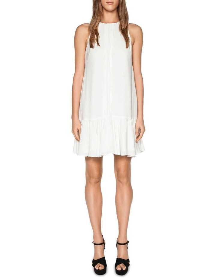 Frilled Hem Mini Dress image 1