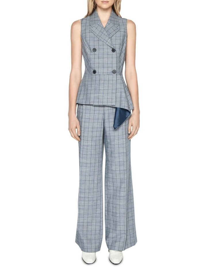 Linen Houndstooth Pant image 1
