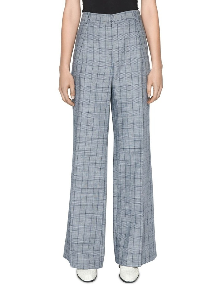 Linen Houndstooth Pant image 2