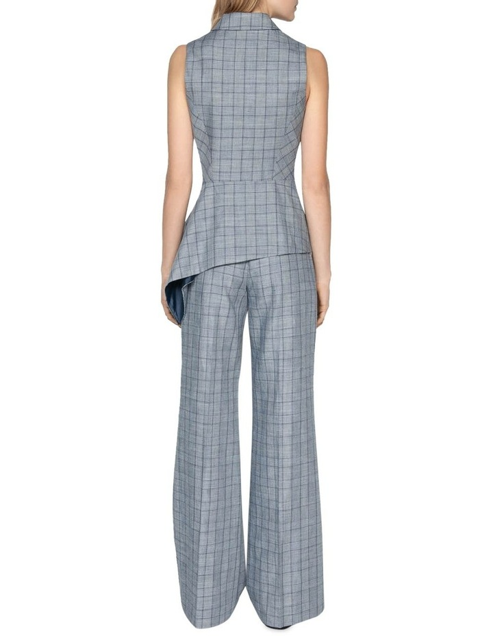 Linen Houndstooth Pant image 3