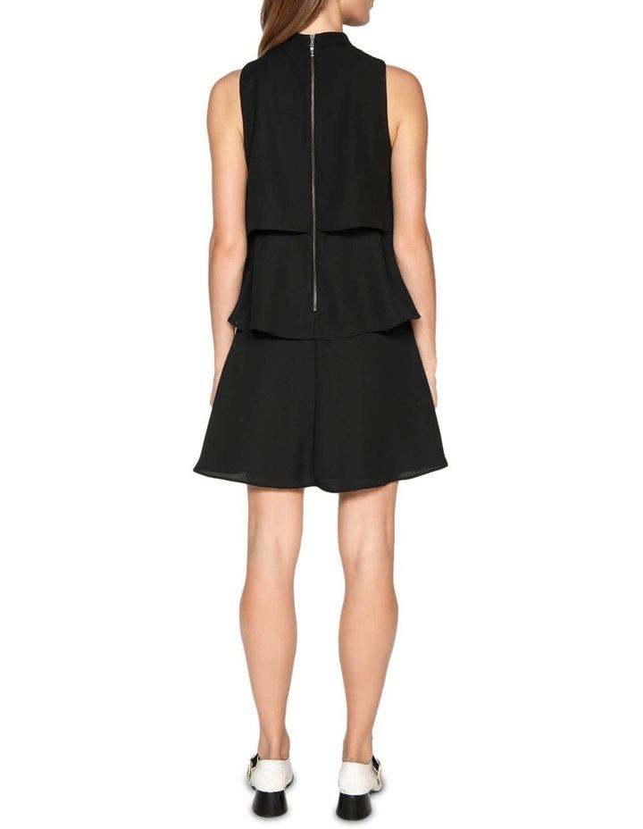Crepe Tiered Dress image 3