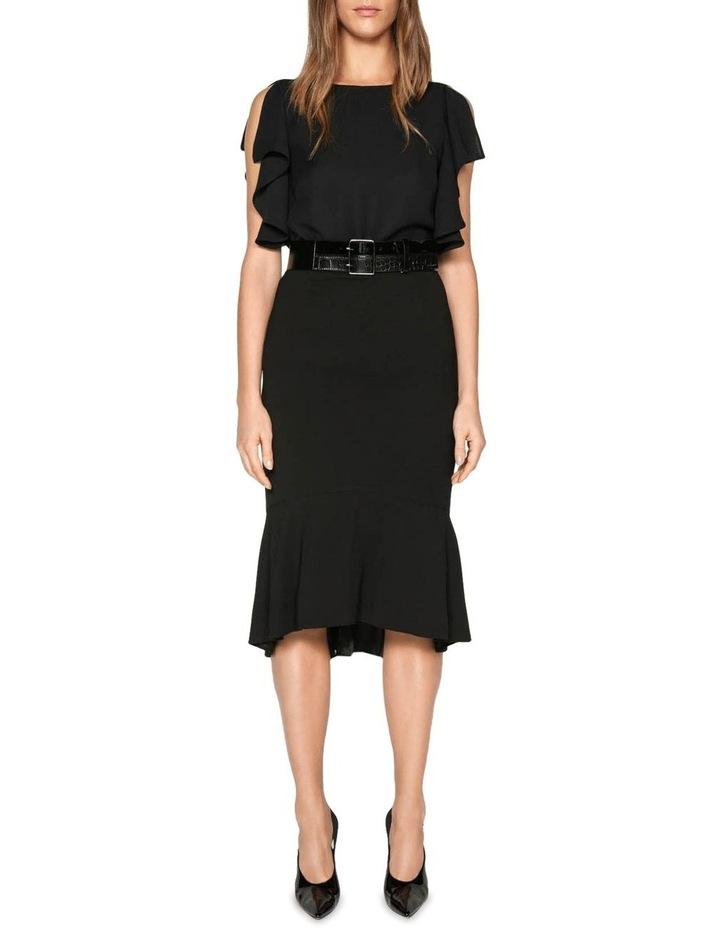 Drapey Fluted Hem Skirt image 1