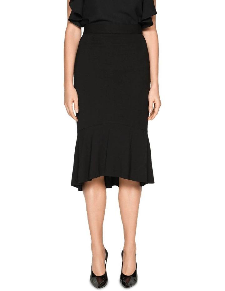 Drapey Fluted Hem Skirt image 2