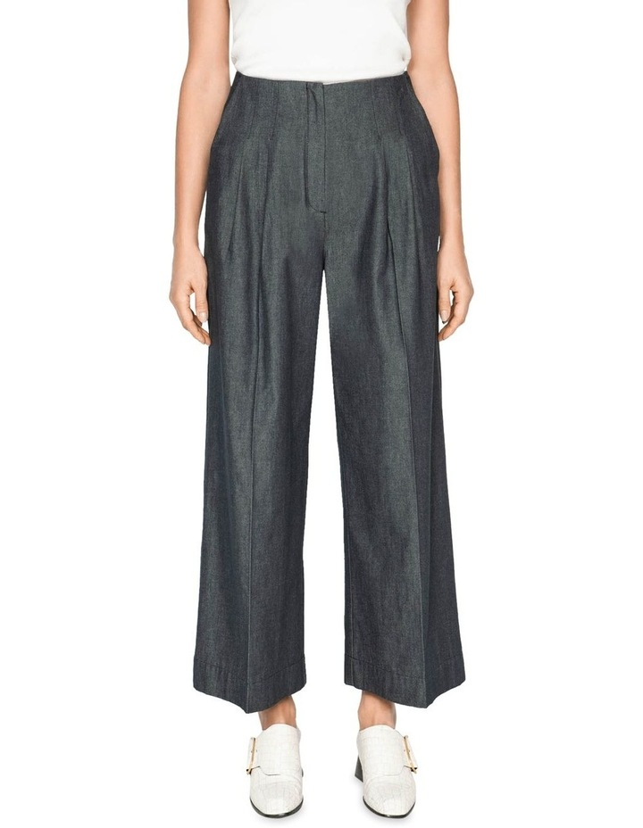 Topstitched Waist Tuck Trousers image 2