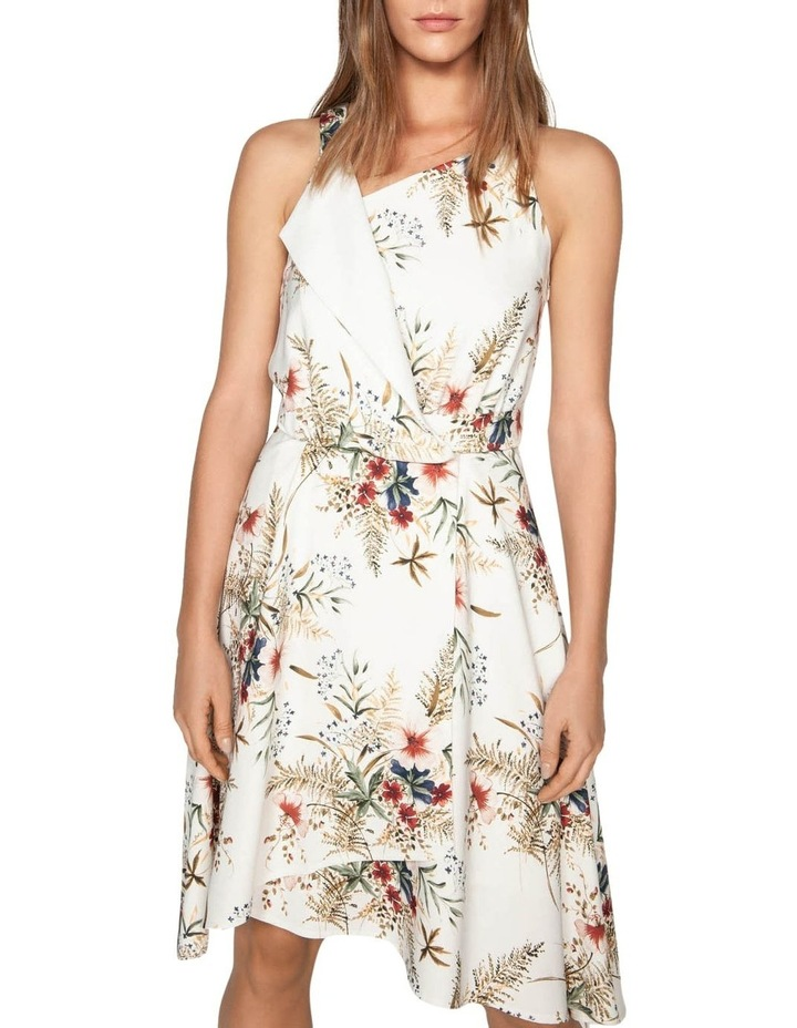 Illustrated Floral Wrap Dress image 2