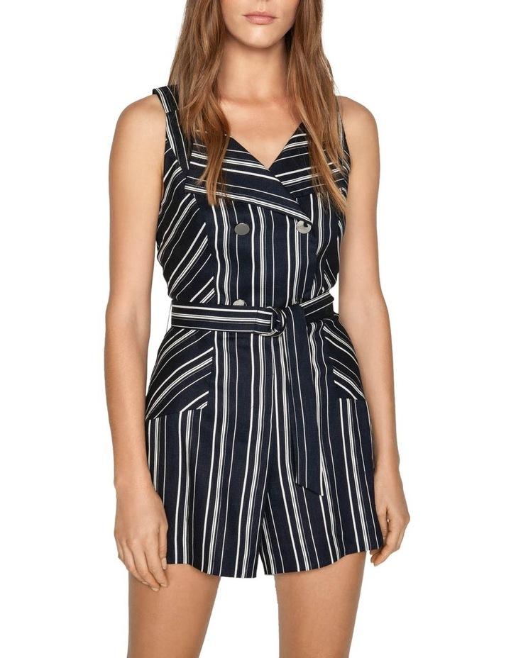 Linen Stripe Playsuit image 2