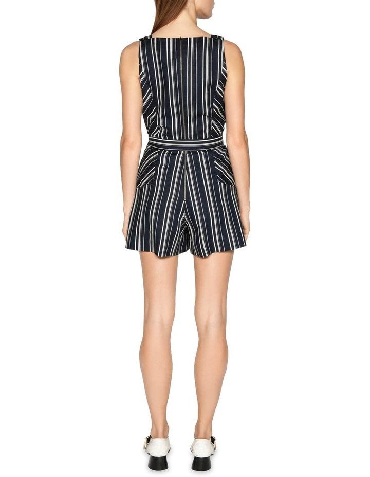 Linen Stripe Playsuit image 3