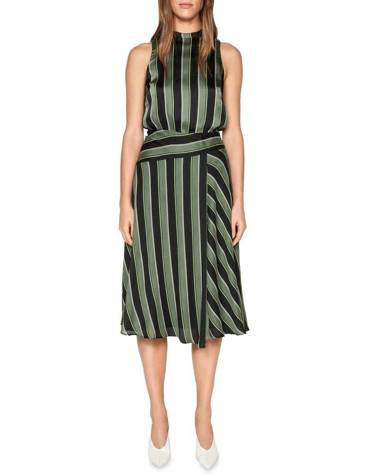 Highlight Stripe Midi Dress image 1