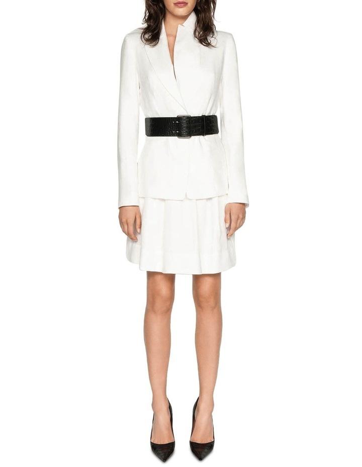 Belted Linen Skirt image 1