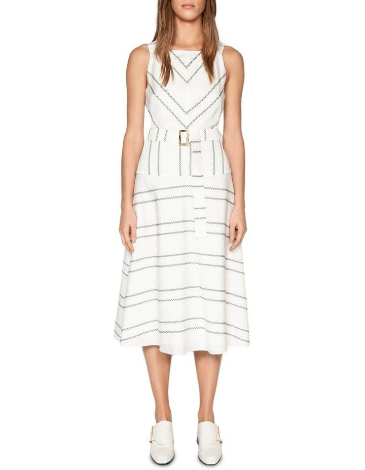 Jacquard Stripe Viscose Dress image 1
