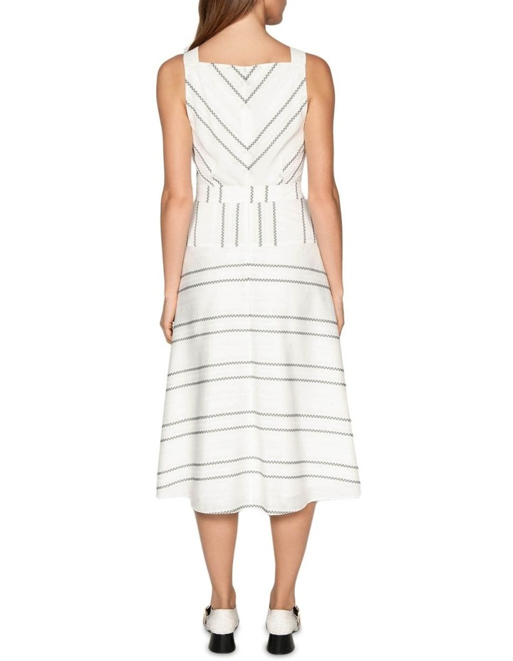 Jacquard Stripe Viscose Dress image 3