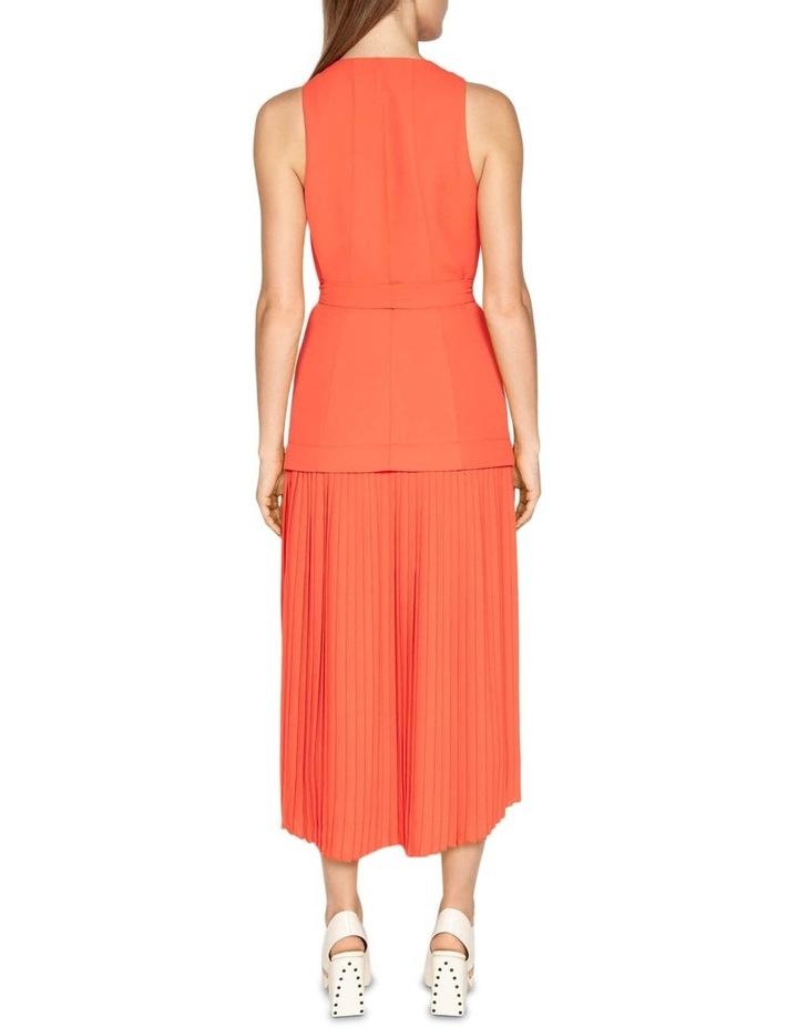 Crepe Pleated Hem Dress image 3