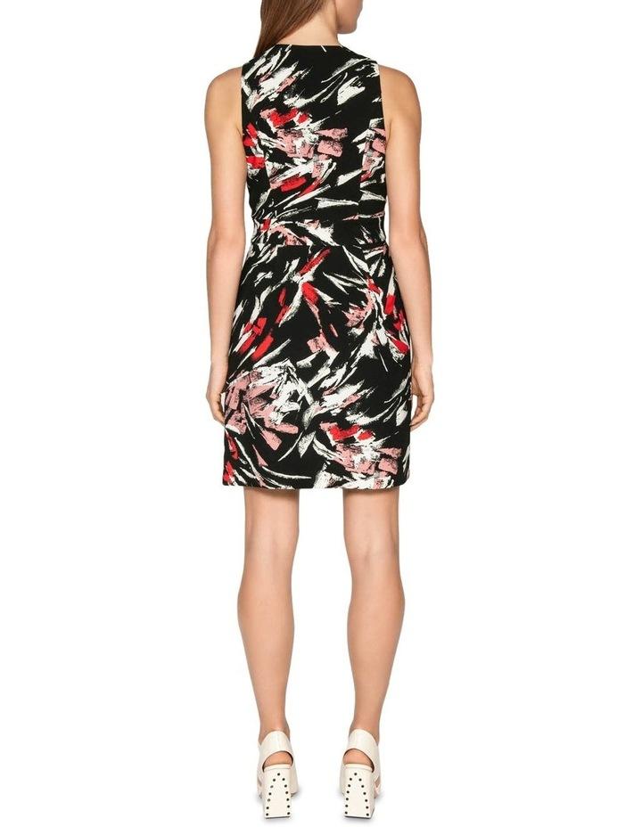 Brushstroke Wrap Dress image 3
