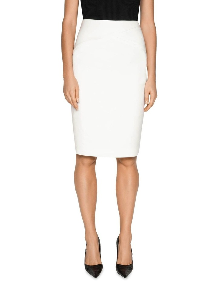 Double Weave Pencil Skirt image 2