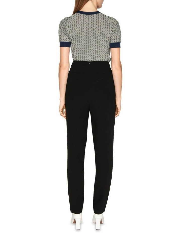 Crepe High Waisted Pant image 3
