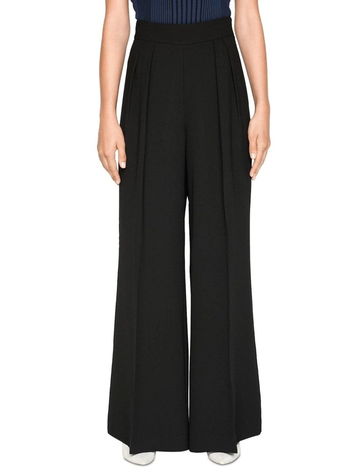 Crepe Tuck Front Pant image 2