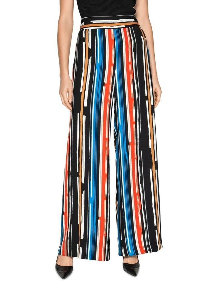 Painted Stripe Wide Leg Pant image 2