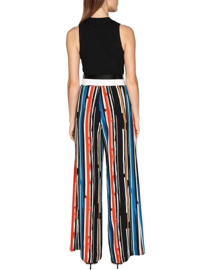 Painted Stripe Wide Leg Pant image 3
