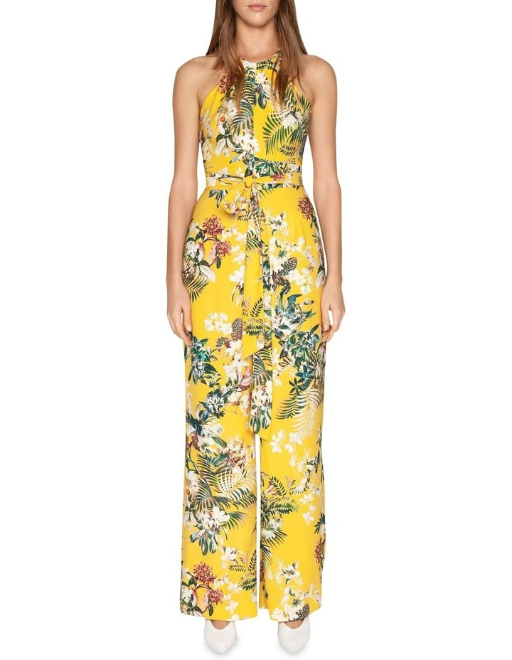 Tropical Halter Neck Jumpsuit image 1