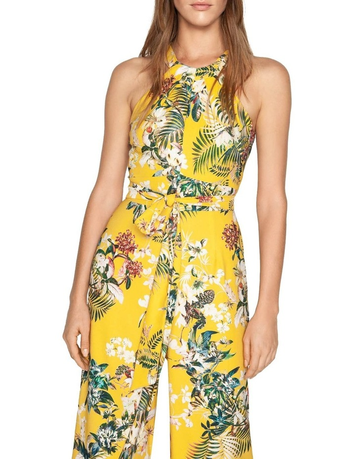 Tropical Halter Neck Jumpsuit image 2