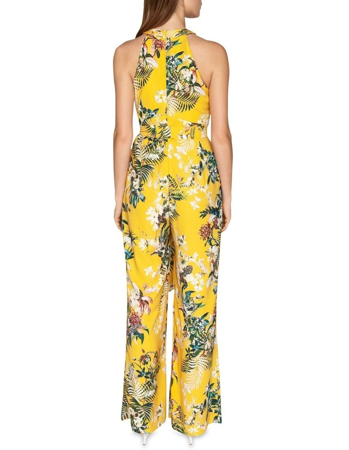 Tropical Halter Neck Jumpsuit image 3