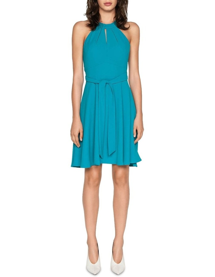Crepe Halter Neck Dress image 1