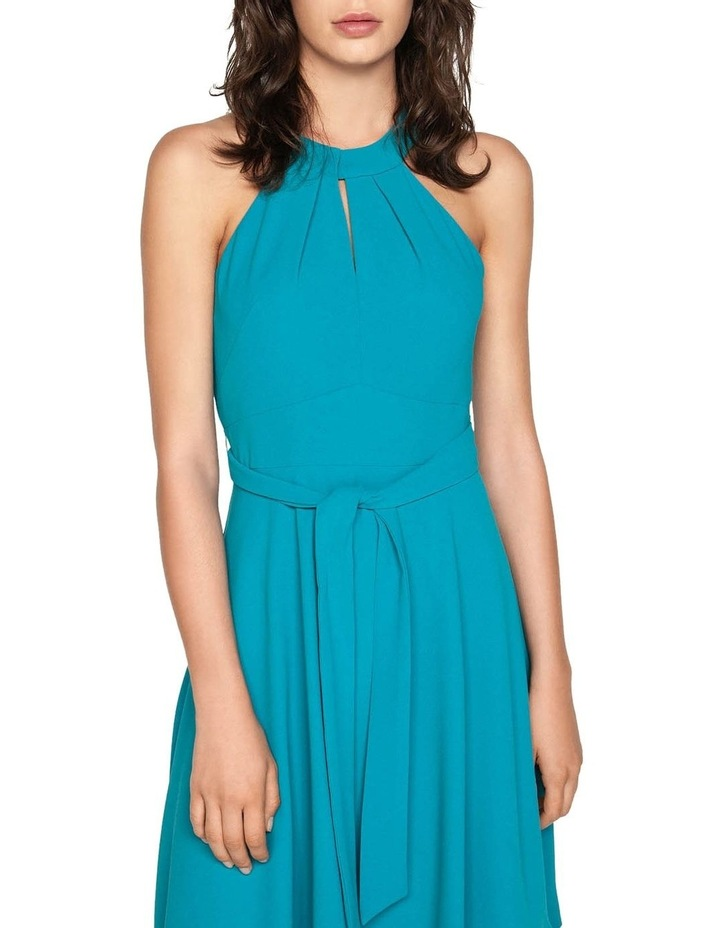 Crepe Halter Neck Dress image 2