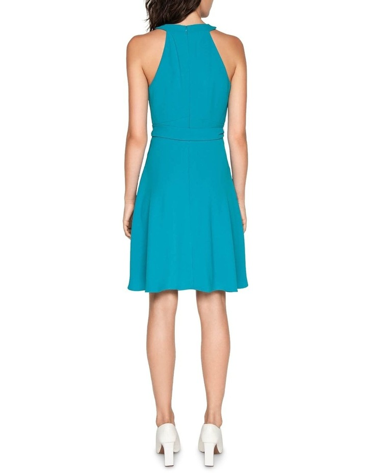 Crepe Halter Neck Dress image 3