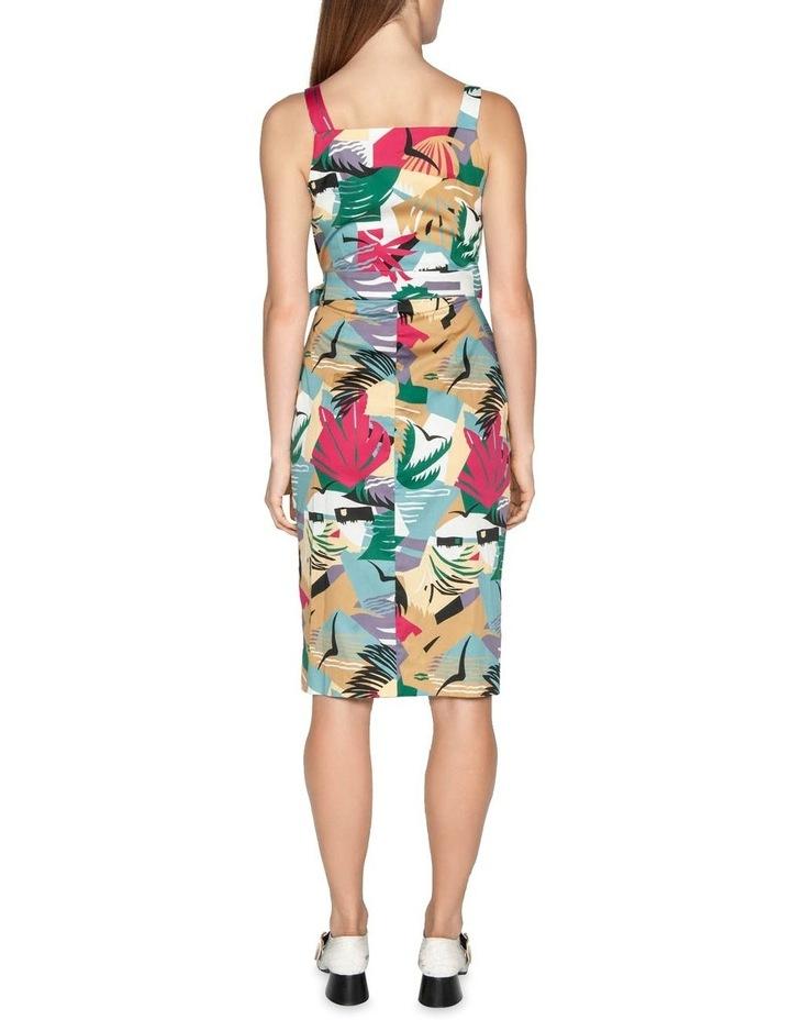 Graphic Island Wrap Dress image 3