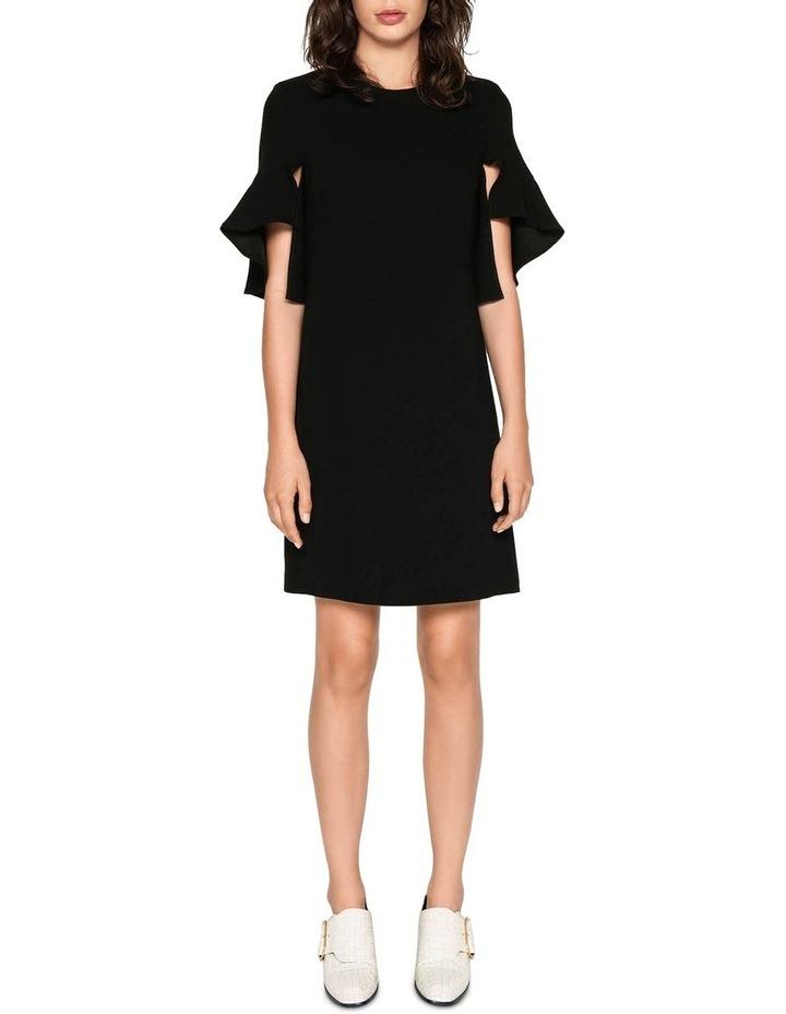 Crepe Split Sleeve Dress image 1