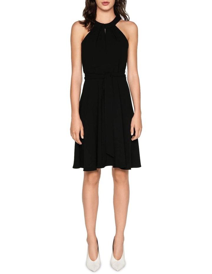 Crepe Halter Neck Dress image 1