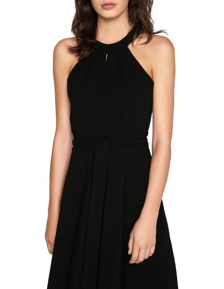 Crepe Halter Neck Dress image 2
