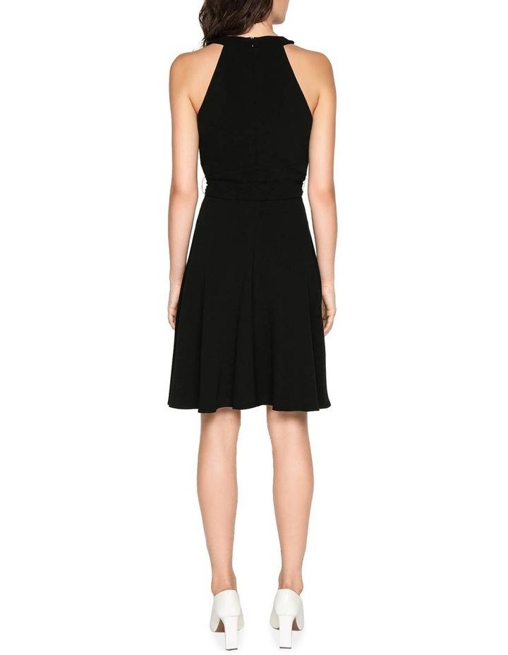Crepe Halter Neck Dress image 3