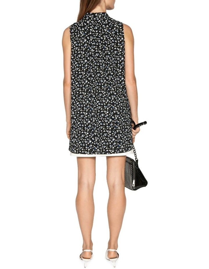 Leopard Georgette Step Hem Shirt image 3
