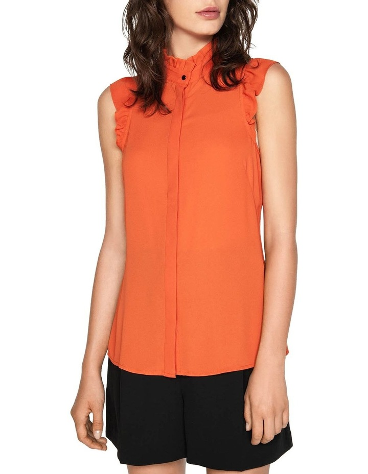 Georgette Frill Shirt image 2