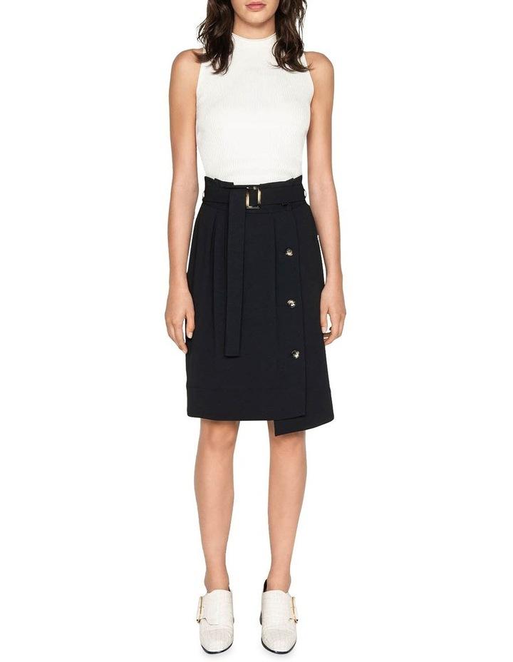 Belted Paperbag Skirt image 1