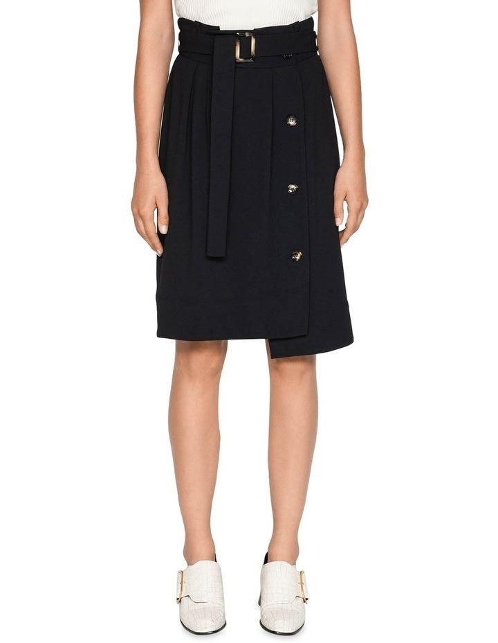 Belted Paperbag Skirt image 2