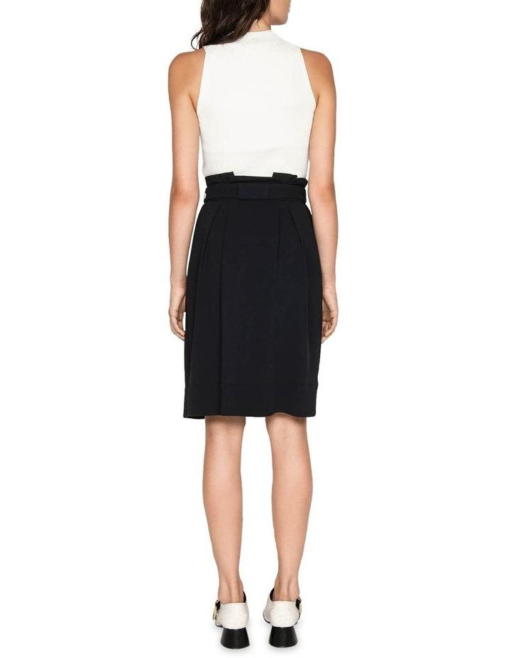 Belted Paperbag Skirt image 3