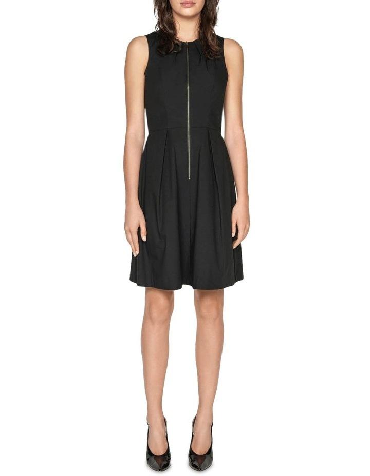 Cotton Blend Zip Front Dress image 1