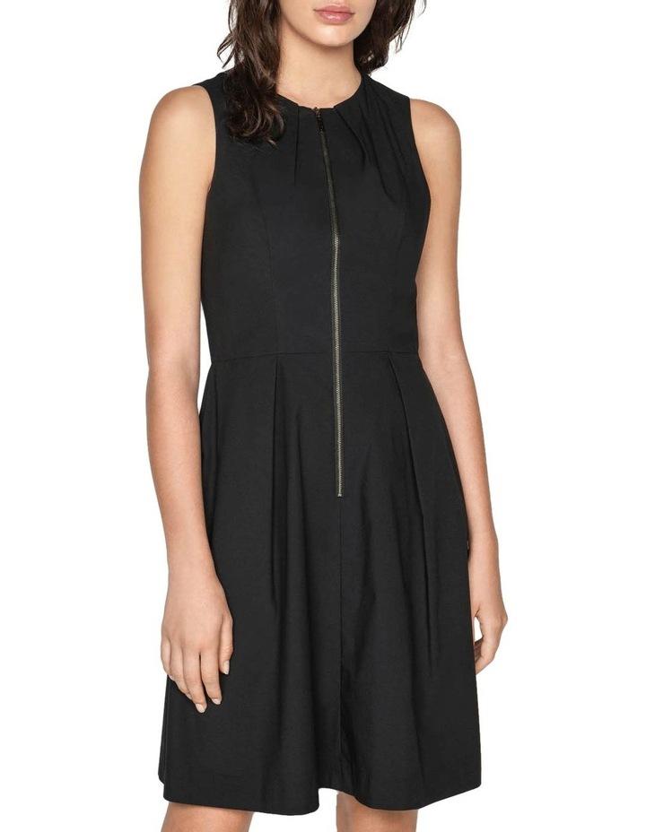 Cotton Blend Zip Front Dress image 2