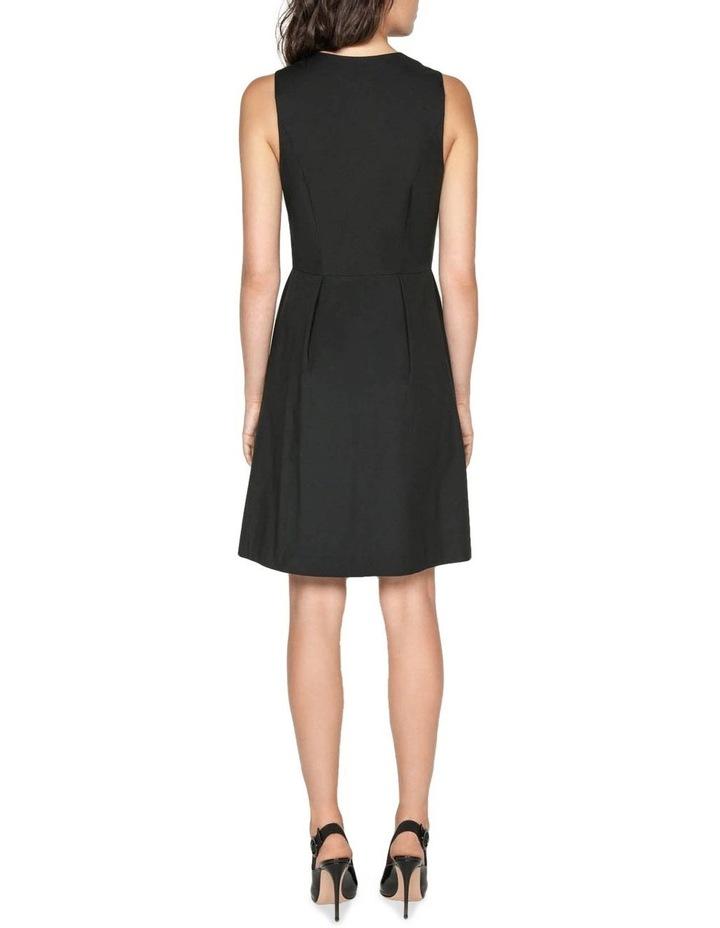 Cotton Blend Zip Front Dress image 3