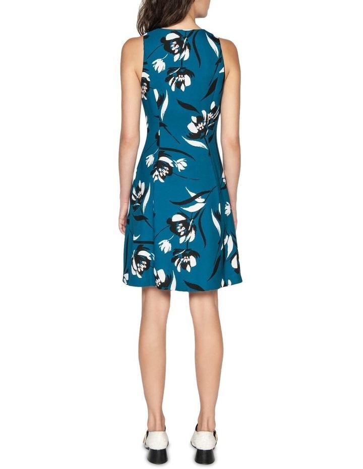 Floral Zip Front Dress image 3