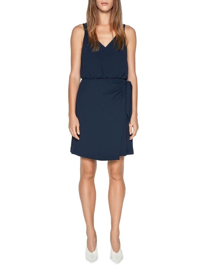 Crepe Tie Waist Dress image 1