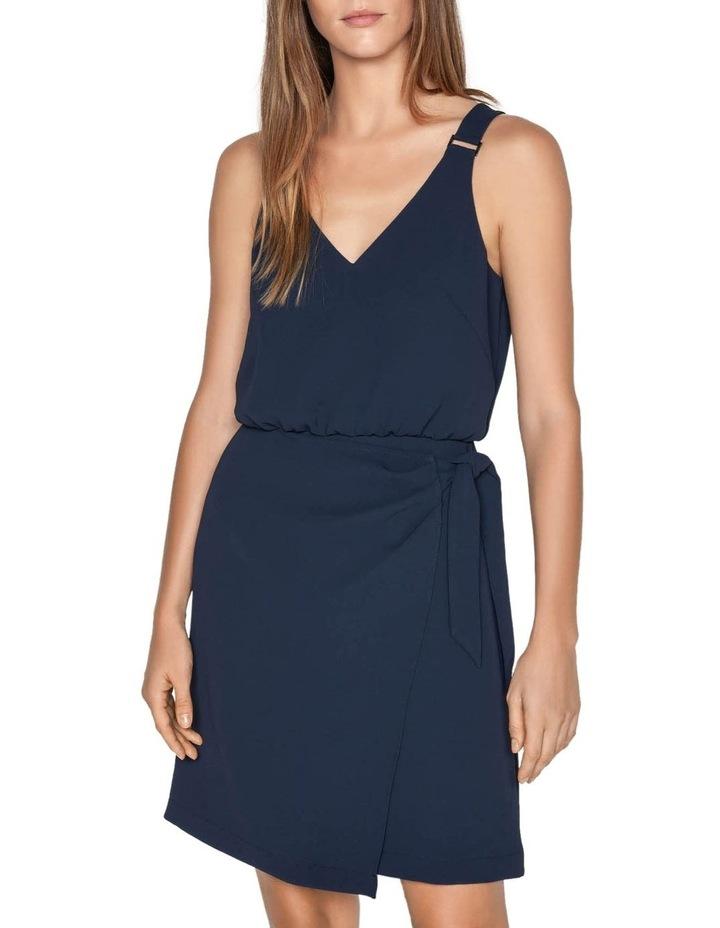 Crepe Tie Waist Dress image 2