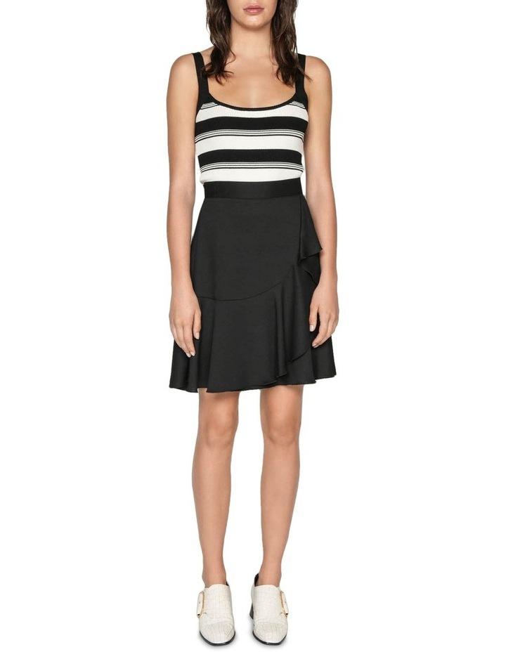 Frilled Hem Wrap Skirt image 1