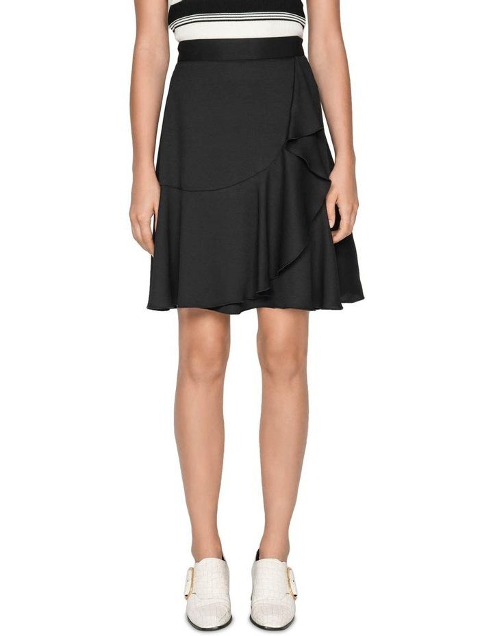 Frilled Hem Wrap Skirt image 2