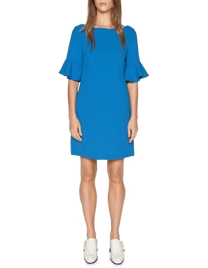 Crepe Frilled Cuff Dress image 1