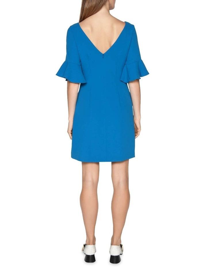 Crepe Frilled Cuff Dress image 3
