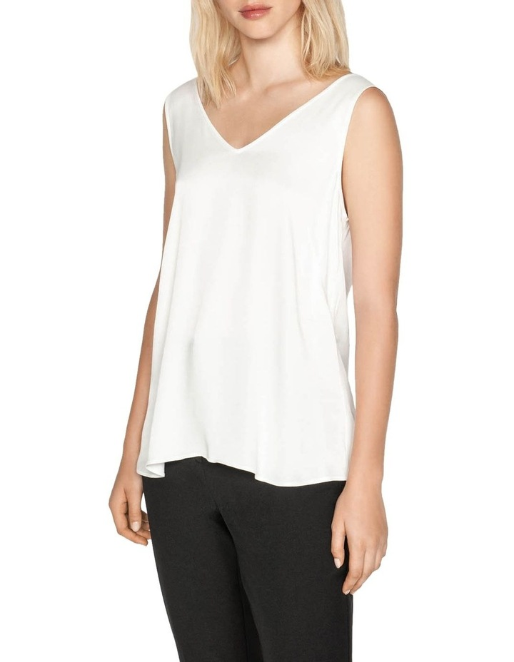 Satin V-neck Top image 2